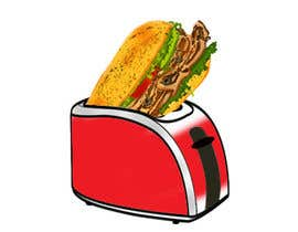 nº 25 pour Design a sub stuffed into a toaster graphic par PixelFox