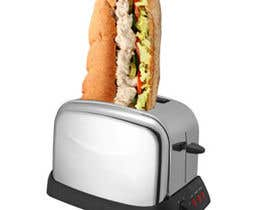 nº 21 pour Design a sub stuffed into a toaster graphic par seguro