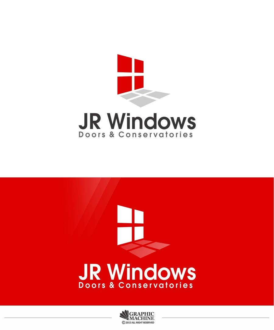 #116 for Design a Logo for JR Windows, Doors & Conservatories by manuel0827