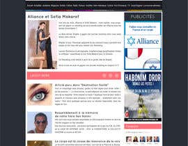 #2 para Conception graphique site web alliancefr.com por nole1