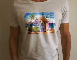 Nro 19 kilpailuun Design a Funky  Surf T-Shirt käyttäjältä bd600102