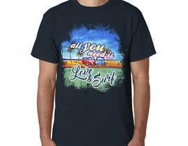 Nro 18 kilpailuun Design a Funky  Surf T-Shirt käyttäjältä jeffnelshabong