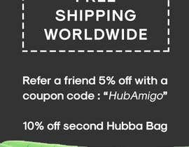 "gnivmcelada tarafından Logo & Promo Flyer (5"" x 7"") for HubbaBag.com için no 8"