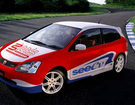 #1 untuk Illustrate Something for Rally Car Wrap oleh Kucurusho