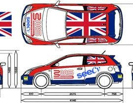 moro2707 tarafından Illustrate Something for Rally Car Wrap için no 2
