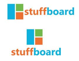 #88 untuk Design a logo and buttons for Stuffboard oleh logopond247