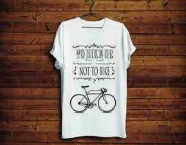 KononikhinaN tarafından 1 color Trendy Cool Hipster Alternative Bicycle T-Shirt Design(s) için no 19