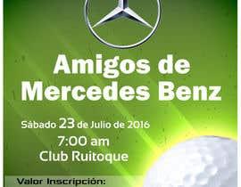 Nro 15 kilpailuun Design an Invitation to a golf tournament käyttäjältä saranyaarchi