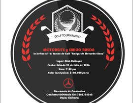 ChowdhuryShaheb tarafından Design an Invitation to a golf tournament için no 1