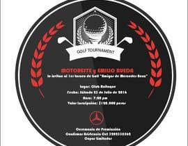 Nro 1 kilpailuun Design an Invitation to a golf tournament käyttäjältä ChowdhuryShaheb