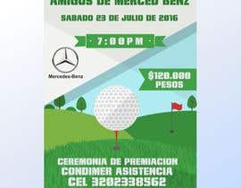 Nro 22 kilpailuun Design an Invitation to a golf tournament käyttäjältä muneebart