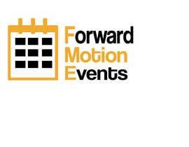 yanatodorova1 tarafından logo designed for Forward Motion Events için no 5