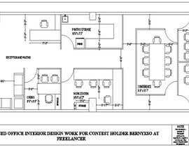 Gulmehek tarafından Office floor plan and furniture layout için no 21