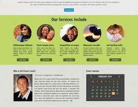 sudee1976 tarafından Design a Website Mockup for a Parenting Coach and Speaker için no 7