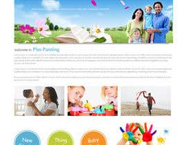 infoYesDesign tarafından Design a Website Mockup for a Parenting Coach and Speaker için no 5