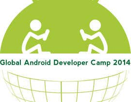 nº 9 pour Design a Logo for Global Android Developer Camp 2014 par alpzgven