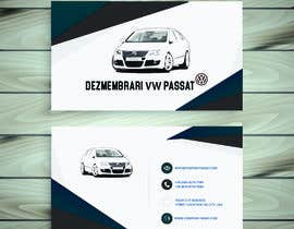 hmzajmal tarafından Business  Card Design for Auto Dismantling Business of VW Passat için no 3