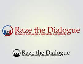 nº 36 pour Design a Logo for Raze the Dialogue par jhonlenong
