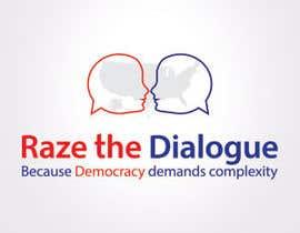 Nro 41 kilpailuun Design a Logo for Raze the Dialogue käyttäjältä anacristina76