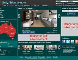 mahidulhaq tarafından Graphic Design for The business is called 'FindAFlat.com.au' için no 23