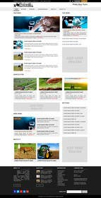 abcdNd tarafından Design a Website Mockup for News Site için no 14
