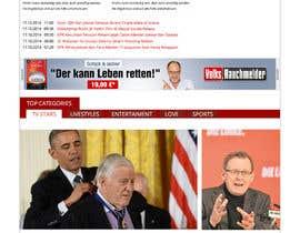 Nro 6 kilpailuun Design a Website Mockup for News Site käyttäjältä indoweb