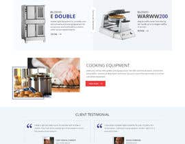 zaxsol tarafından Design a Website Mockup for Restaurant Equipment Site için no 11