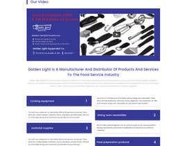 Nro 7 kilpailuun Design a Website Mockup for Restaurant Equipment Site käyttäjältä LynchpinTech