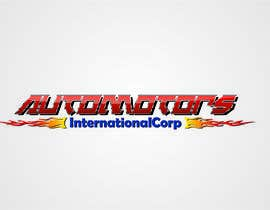 robertsdimants tarafından Design a Logo for Automotors International Corp için no 58