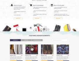 Nro 33 kilpailuun home landing page svg png design website UX UI designer käyttäjältä lysbuenavista09