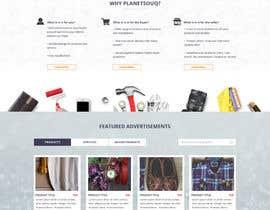 lysbuenavista09 tarafından home landing page svg png design website UX UI designer için no 35