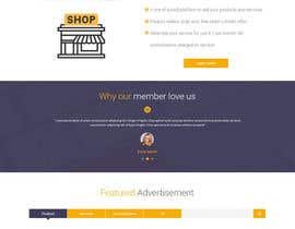 lacrymosh tarafından home landing page svg png design website UX UI designer için no 56