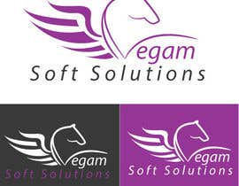 #60 para Design a Logo for Vegam Soft Solutions por arkwebsolutions