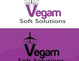 #68 para Design a Logo for Vegam Soft Solutions por arkwebsolutions