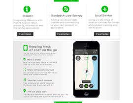 #29 for Design a Website Mockup for new bluetooth low energy product by xrevolation