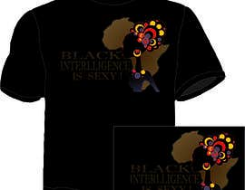 #49 for Design a T-Shirt for African Intelligence by mekalan