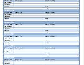 Nro 3 kilpailuun Design a newsletter template for briefing on activities. käyttäjältä BChSoftware