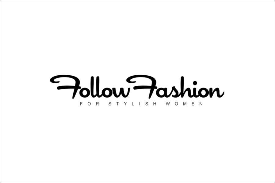 #54 for Logo Design for Follow Fashion by neXXes