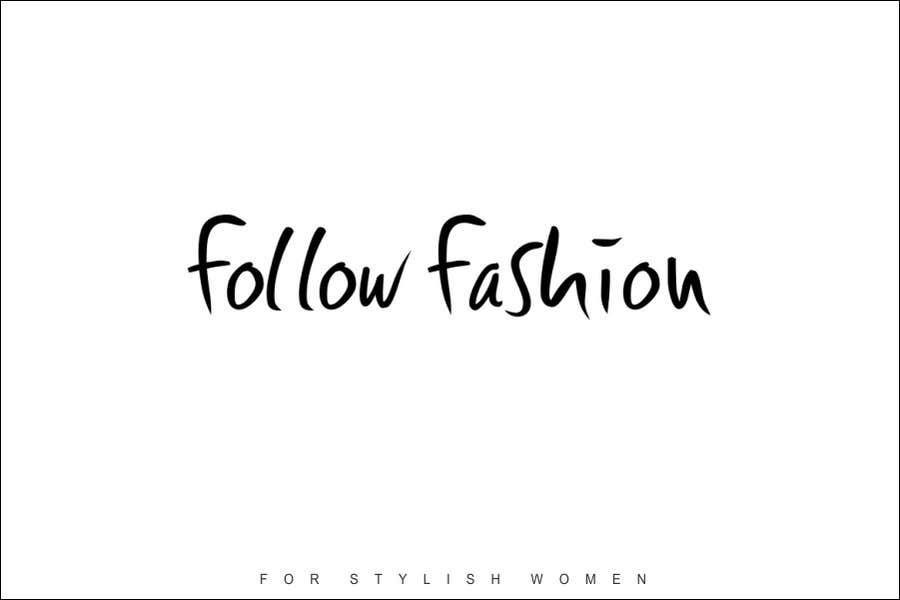 #46 for Logo Design for Follow Fashion by neXXes