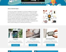 #13 for Design a WordPress Mockup by fourtunedesign