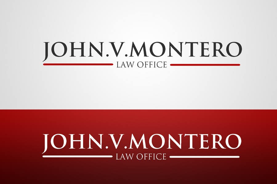 Inscrição nº 65 do Concurso para Logo Design for Law Office of John V. Montero