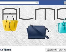 Nro 11 kilpailuun Designing a Facebook landing page for a brand of women handbags käyttäjältä nlmaroesnl