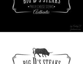 #38 para Design a logo for Big D's Steaks por AndryF