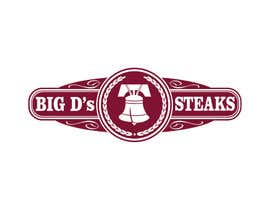 #60 para Design a logo for Big D's Steaks por parmitu