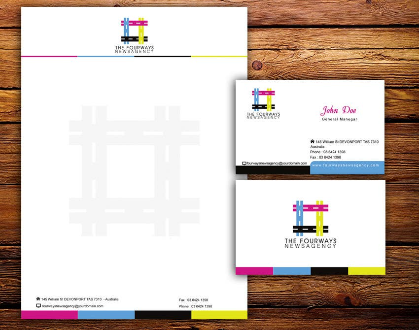Konkurrenceindlæg #7 for Design some Stationery for this logo