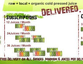 #21 para Design a Banner for Juice Delivery por authenticweb