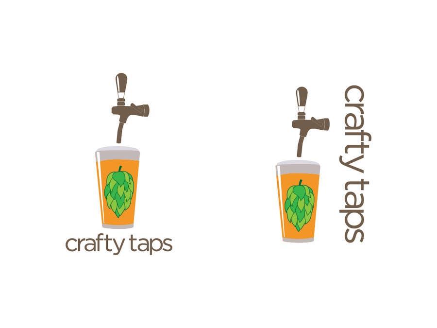 Penyertaan Peraduan #                                        47                                      untuk                                         Design a Logo for Crafty Taps