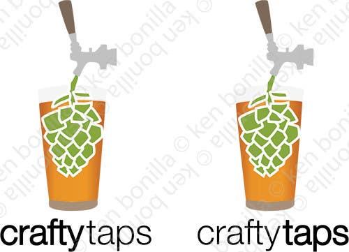 Penyertaan Peraduan #                                        21                                      untuk                                         Design a Logo for Crafty Taps
