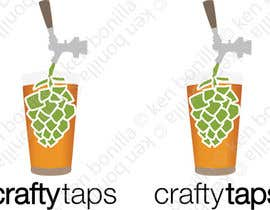 #21 para Design a Logo for Crafty Taps por kenbonilla