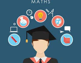 Nro 8 kilpailuun Design a Udemy Course image for a high school maths course käyttäjältä waqarsolo1